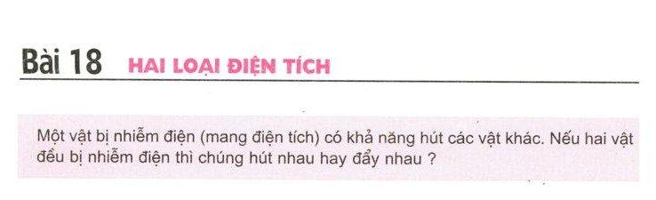 Trả lời câu hỏi C1 C2 C3 C4 bài 18 trang 51 52 sgk Vật lí 7