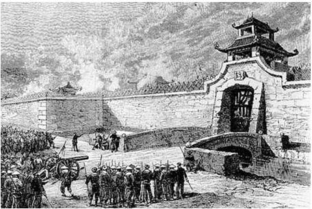 Quân Pháp tấn công thành Hà Nội