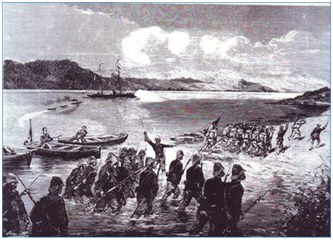 Pháp tấn công cửa biển Thuận An (Huế)